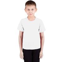 """Футболка подростковая """"Далматинец"""", однотонная, цвет белый"""