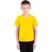 """Футболка подростковая """"Далматинец"""", однотонная, цвет желтый"""