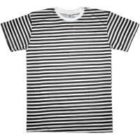 """Тельняшка-футболка """"Браво"""" (черная полоса)"""