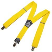Подтяжки подростковые (желтый)