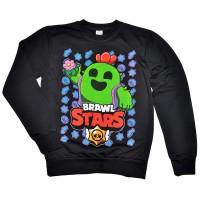 """Свитшот подростковый """"Brawl Stars - Spike"""""""