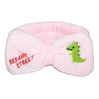"Повязка на голову ""Sesame Street"" (бледно-розовый)"