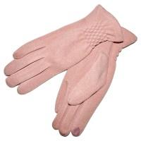 Перчатки женские для сенсорных экранов -4 (pink)