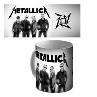 """Кружка керамическая """"Metallica"""" (logo)"""