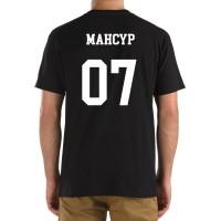 Футболка с номером и именем Мансур (на спине)