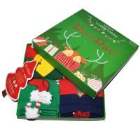 """Носки женские ароматизированные """"Merry Christmas"""", упаковка 4 пары"""