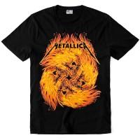 "Футболка ""Metallica (Fire Skull)"""