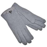Перчатки женские для сенсорных экранов -6 (серый)