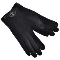 Перчатки женские для сенсорных экранов -6 (черный)