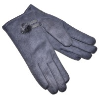 Перчатки женские, трикотажные -47 (серый)