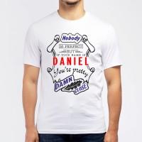 "Футболка мужская ""If your name is Daniel, you are pretty…"""