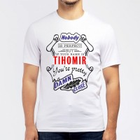 "Футболка мужская ""If your name is Tihomir, you are pretty…"""