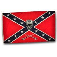 Флаг Конфедерация с черепом
