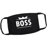 """Маска от вирусов с рисунком """"Boss"""""""