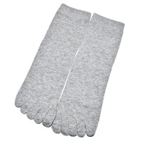 Носки мужские с пальцами (серый)