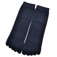 Носки мужские с пальцами (темно-синий)
