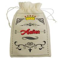 """Мешочек для подарка с именем """"Алёна"""""""