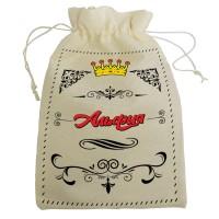 """Мешочек для подарка с именем """"Альфия"""""""
