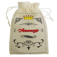 """Мешочек для подарка с именем """"Анастасия"""""""