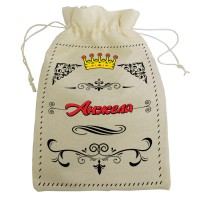 """Мешочек для подарка с именем """"Анжела"""""""