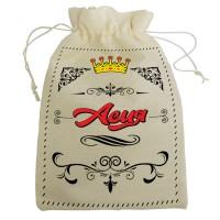 """Мешочек для подарка с именем """"Асия"""""""