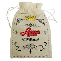 """Мешочек для подарка с именем """"Лера"""""""