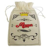 """Мешочек для подарка с именем """"Маша"""""""