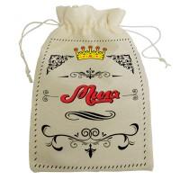 """Мешочек для подарка с именем """"Мила"""""""
