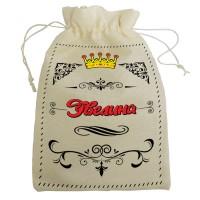 """Мешочек для подарка с именем """"Эвелина"""""""