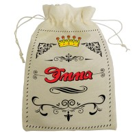 """Мешочек для подарка с именем """"Эмма"""""""