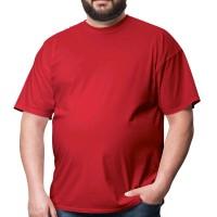Футболка большого размера RexTex (красный)