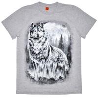 "Футболка ""Гордый волк"""