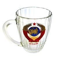 """Кружка пивная """"Герб СССР"""""""