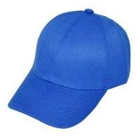 Кепка бейсболка классическая, синяя (премиум) для вышивки