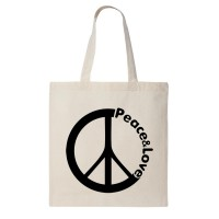 "Сумка шоппер ""Peace&Love"""