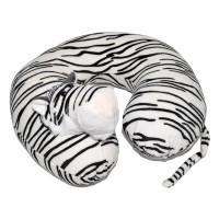 """Подушка автомобильная для шеи """"Белый тигр"""""""