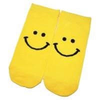 """Носки женские, короткие """"Smile"""" (желтый)"""