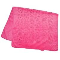 """Полотенце детское из микрофибры """"Skip"""" (90х52, розовый)"""