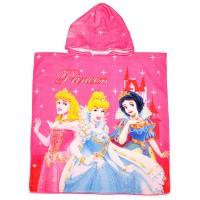 """Детская накидка с капюшоном из микрофибры """"Princess"""""""