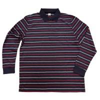 Рубашка-поло с рукавами большого размера (полоса)