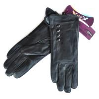 Перчатки женские, натуральная кожа -48