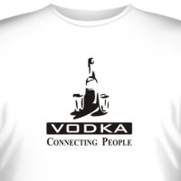 "Футболка ""Vodka - Connecting People"" (1)"