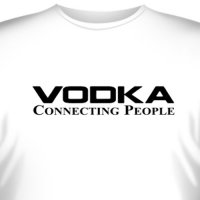 "Футболка ""Vodka - Connecting People"" (2)"
