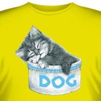 Футболка Art_Brands  «Dog Bowl» (Кот в миске, 00004)