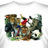 Футболка Art_Brands «Animal Kingdom» (Животный мир, 10772)
