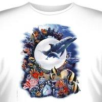 Футболка Art_Brands «Magical Kingdom» (Подводный мир и дельфины, 10824)
