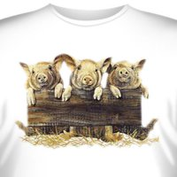Футболка Art_Brands «Three Pigs» (Три поросенка, 04896)