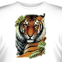 Футболка Art_Brands «Tiger» (Тигр в листьях, 10134)