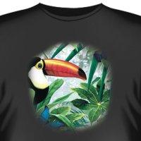 Футболка Art_Brands «Toucan & Butterflies» (Тукан и бабочка, 08767)