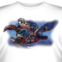 Футболка Art_Brands «Turtle Universe» (Морская черепаха, 09374)